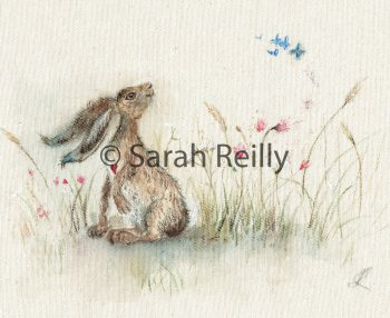 Butterfly Breeze by Sarah Reilly, Suffolk Artist, Love Country by Sarah Reilly