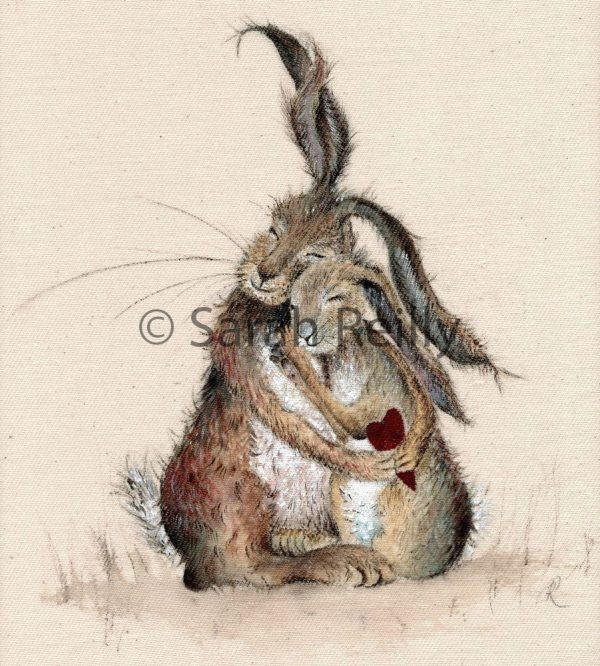Hare My Heart by Sarah Reilly, Artist, Love Country