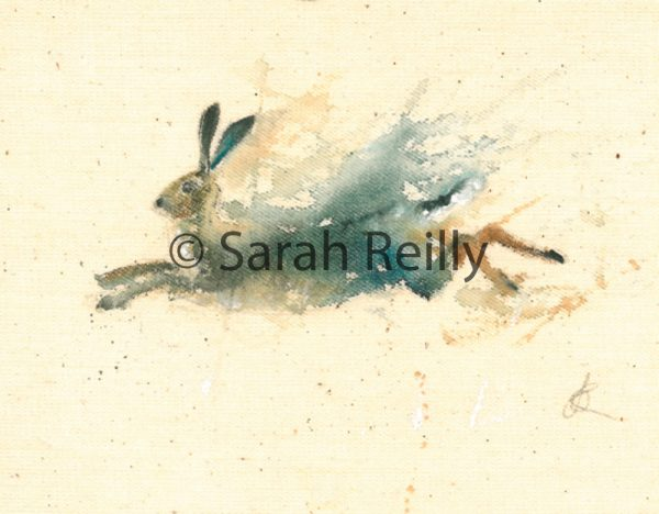 Out of the Paintbox by Sarah Reilly, Suffolk Artist, Love Country by Sarah Reilly
