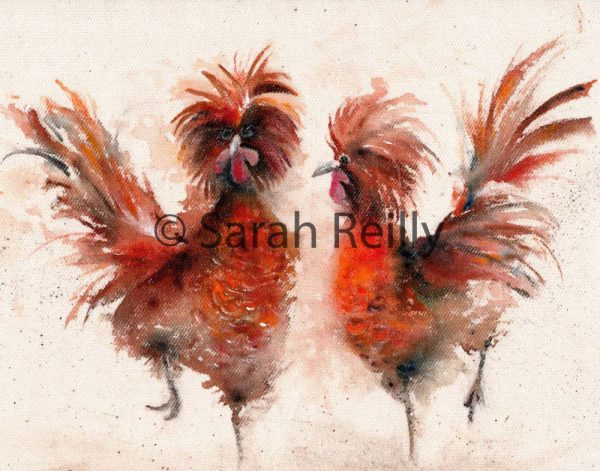 Polish Frazzles by Sarah Reilly, Suffolk Artist, Love Country by Sarah Reilly