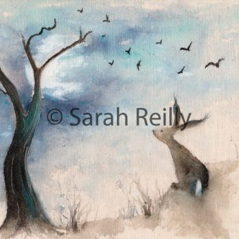 Stargazing by Sarah Reilly, Suffolk Artist, Love Country by Sarah Reilly