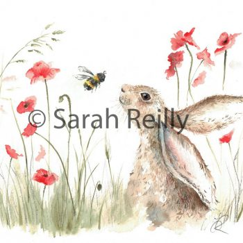 Bee Lovely by Sarah Reilly, Suffolk Artist, Love Country by Sarah Reilly