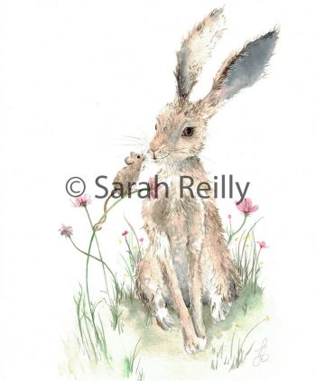 Little Friend by Sarah Reilly, Suffolk Artist, Love Country by Sarah Reilly