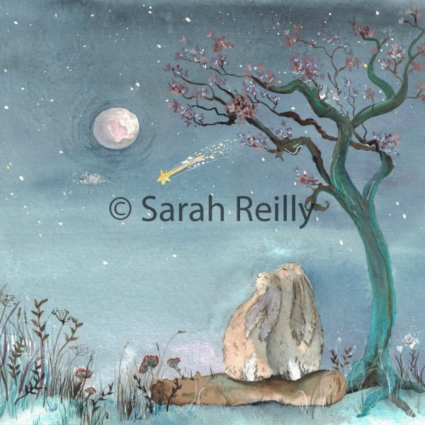 Stars and Dreams by Sarah Reilly, Suffolk Artist, Love Country by Sarah Reilly