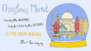 Huge Christmas Market in Norwich