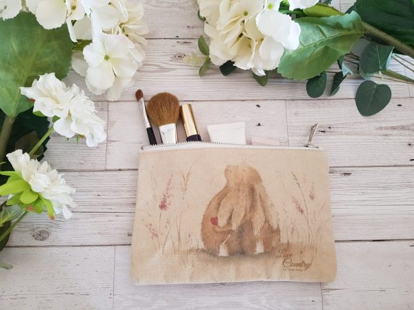 Always Hare Cosmetic Case by Sarah Reilly