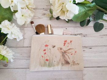 Bee Lovely Cosmetic Case by Sarah Reilly