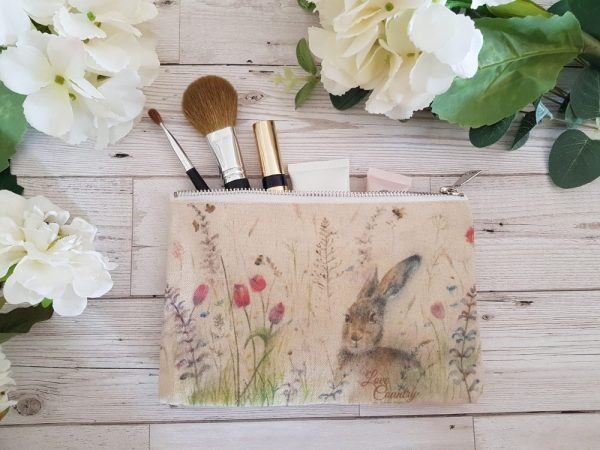 Spring is Hare Cosmetic Case by Sarah Reilly