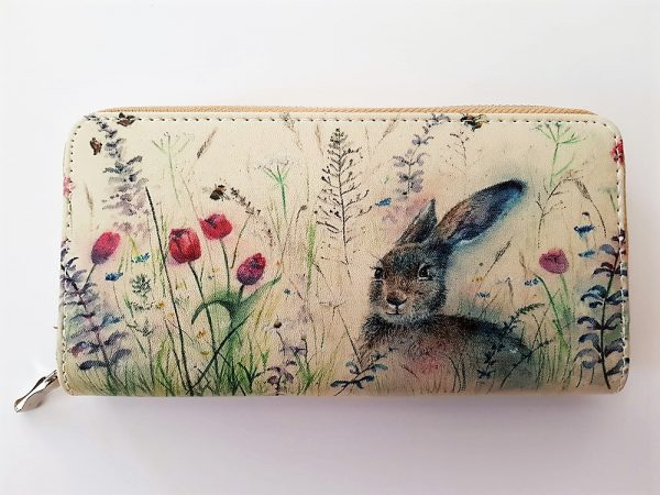 Spring is Hare Ladies Purse