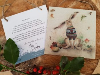 The Jumper Wooden Forever Card