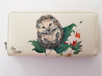 Mr Prickles Hedgehog Ladies Purse