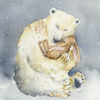 Snow Bear and the Magic Book by Sarah Reilly