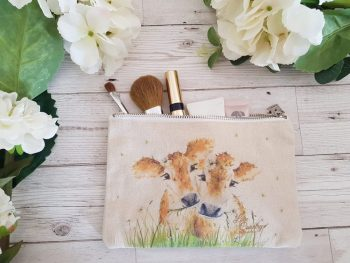 Daisy Moos Cosmetic Case by Sarah Reilly