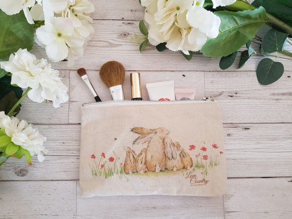 Our Family Cosmetic Case by Sarah Reilly