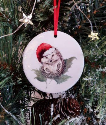 Porcelain Christmas Decoration